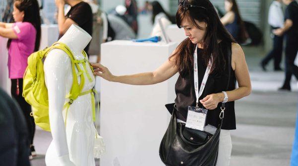 Visitor at the ISPO Shanghai