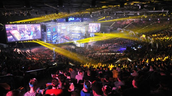 Perhaps Olympic by 2024? Esports enjoy increasing popularity.