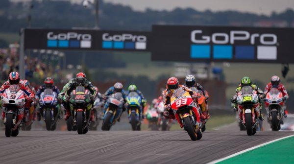 GoPro is no longer sponsoring the Grand Prix at the Sachsenring this year.