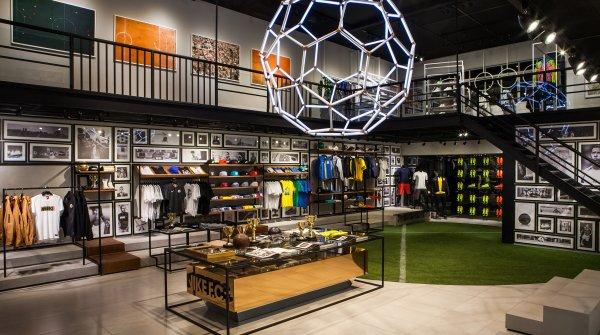 Firmen wie Nike setzen immer häufiger auf Pop-up-Stores