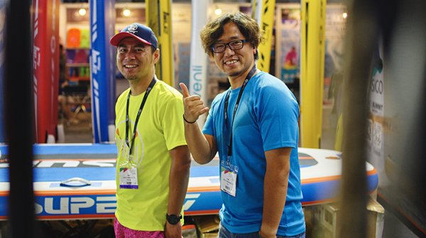 Happy Visitors at ISPO Shanghai