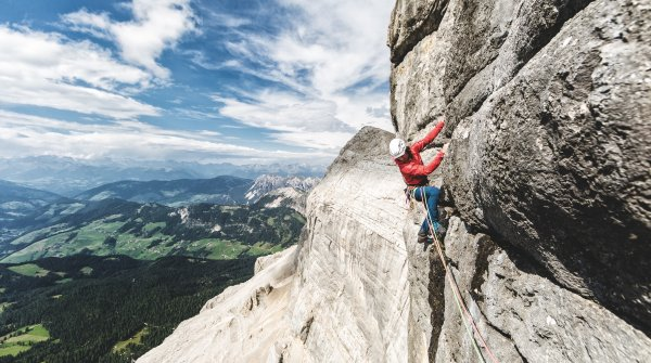 Get Vertical – experience real mountain-feeling while climbing with SALEWA