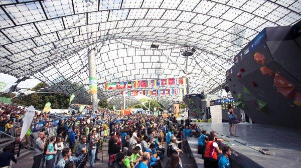 Am 17. und 18. August findet der Boulder-Weltcup in München statt.