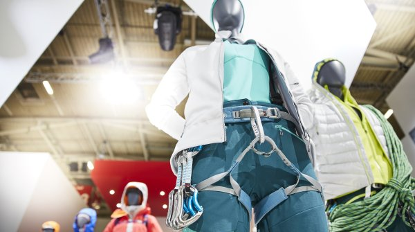Climbing gear and clothing at the ISPO Munich