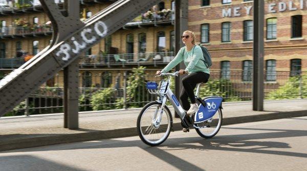 Der größte deutsche Anbieter Nextbike verzeichnet in Berlin monatlich 18.000 Ausleihen.