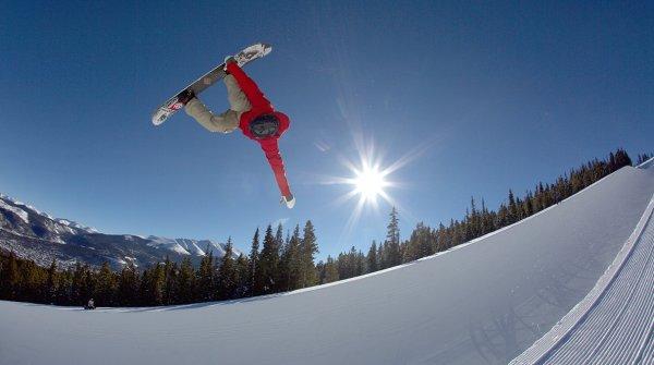 Breckenridge in Colorado gilt als der beste Snowpark der Welt.