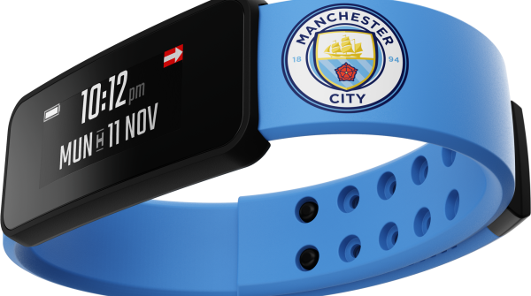 Fantom – a smartband for Manchester City fans.