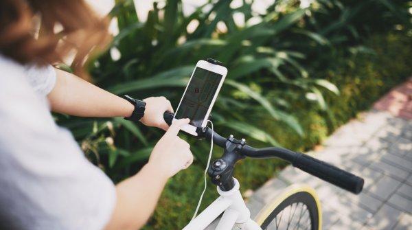 Connected Bike: In Zukunft wird das Rad noch stärker mit Smartphone, Fitnesstracker und Co. vernetzt.