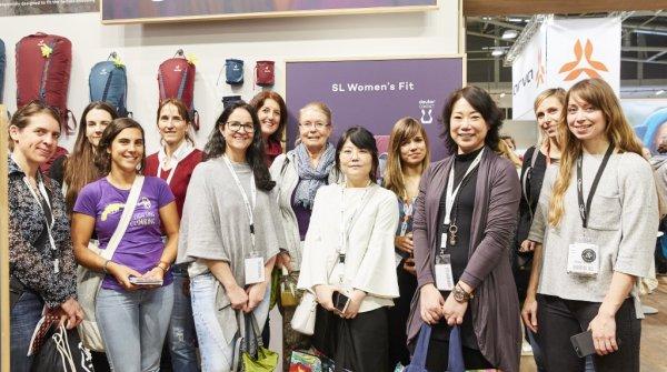Zielgruppe Frau im Mittelpunkt – Rundgang auf der ISPO Munich 2018