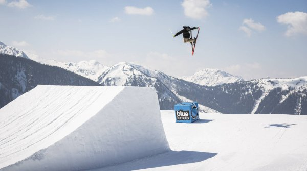 Der Superpark Planai im österreichischen Schladming ist eines der Snowpark-Highlights in Europa.