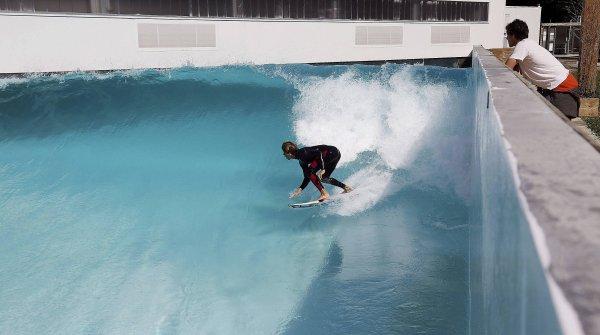 The Wavegarden in San Sebastian, Spain.