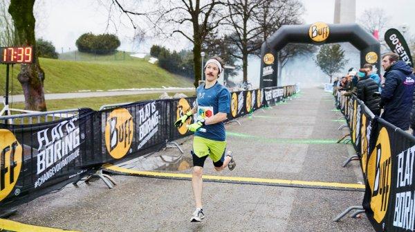 Über 5 Kilometer war der Ultraläufer Florian Neuschwander nicht zu schlagen.