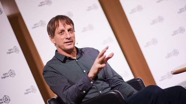 Tony Hawk war Keynote-Speaker auf der ISPO Digitize Pioneers Night.