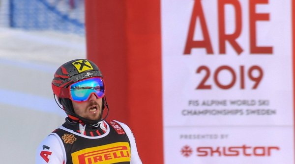 Marcel Hirscher bei der Ski-WM in Are