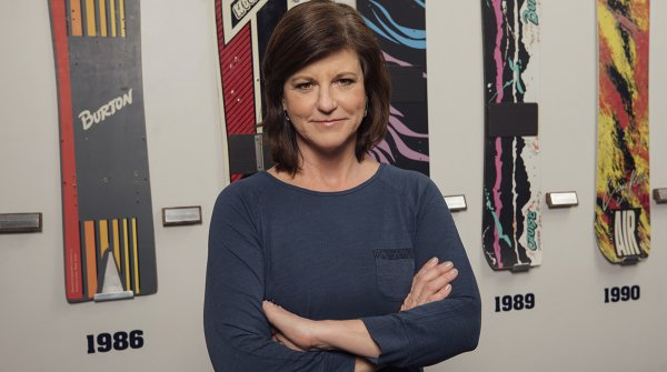 Donna Carpenter ist Co-Ownerin und Co-CEO der Snowboardmarke Burton.