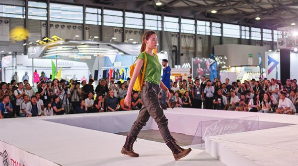 Tmall Fashion Show at ISPO