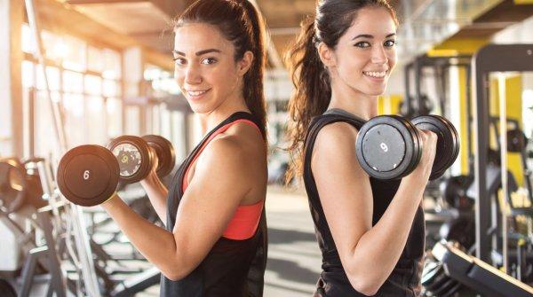 Die Mitglieder von Fitnessstudios werden mehr.