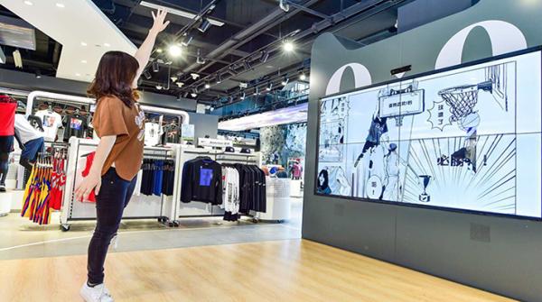 Intersport hat in Peking gemeinsam mit der Alibaba B2C-Plattform Tmall einen stationären Store mit vielen digitalen Features eröffnet.