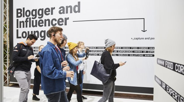 Blogger & Influencer at ISPO