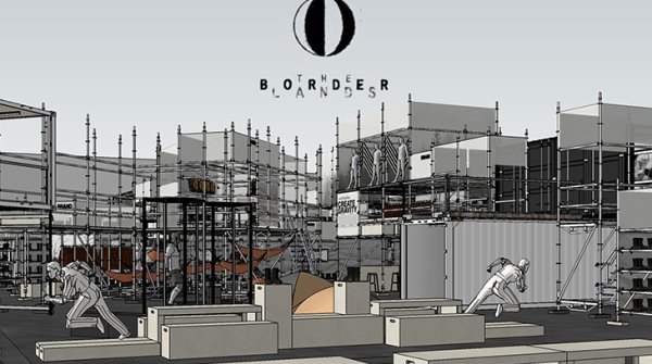 THE BORDERLANDS™ Rendering für die Fokus Area auf der OutDoor by ISPO