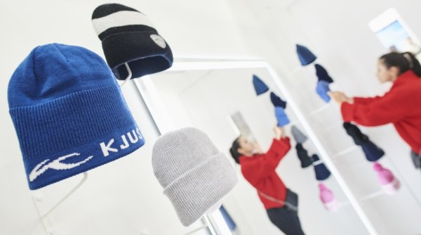 Kjus booth at ISPO Munich 2019