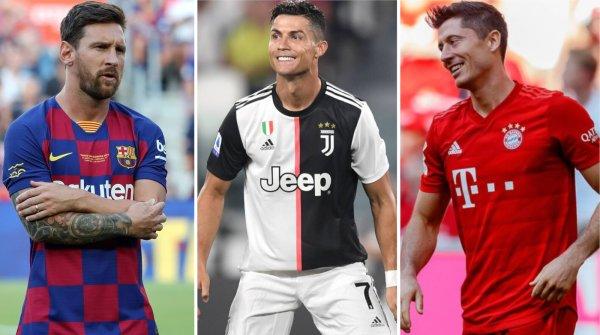Lionel Messi (FC Barcelona), Cristiano Ronaldo (Juventus Turin) und Robert Lewandowski (FC Bayern München) und ihre Teams haben weltweit zig Millionen Fans.