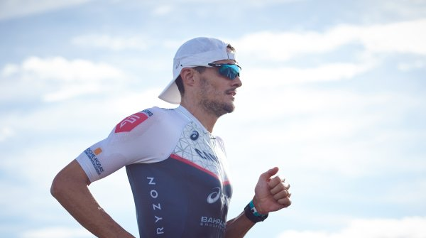 Jan Frodeno on his way to the third Ironman victory in Hawaii
