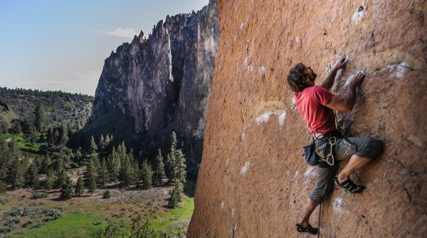 As a climber, trust in one's own abilities is elementary.