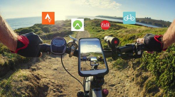 Das Angebot an nützlichen Bike-Apps ist riesig.