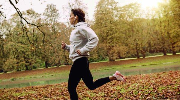 Im Herbst kommt es auf die Wahl der richtigen Laufkleidung an. Atmungsaktiv, wasserabweisend, aber nicht zu warm sollte sie sein.