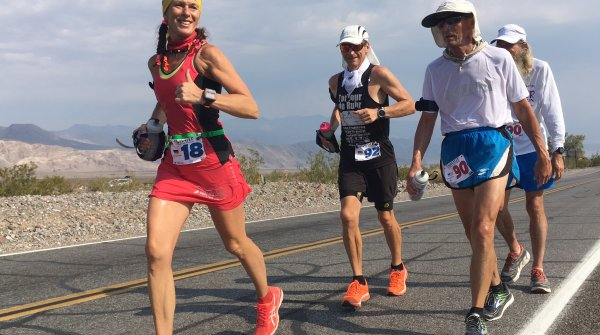 Ultra runners from all over the world meet at the Badwater Ultramarathon.
