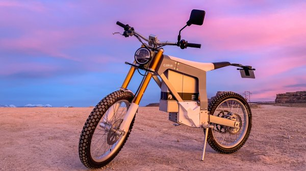 "With road licence: the Cake electric motorbike ""Kalk""."