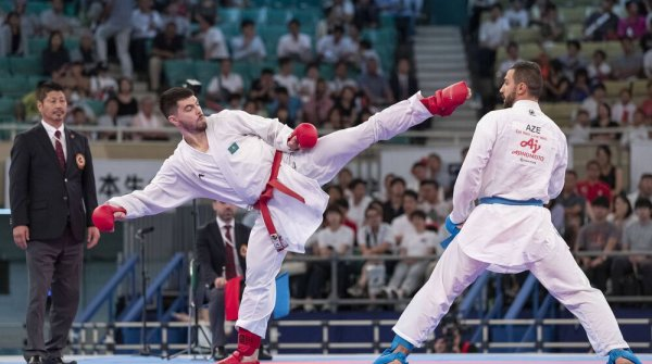 For the first time, karate is a part of the Olympic Games.