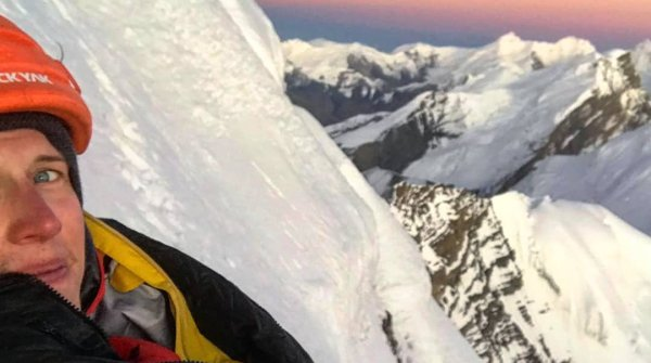 Summit Selfie - Jost Kobusch on the Amotsang