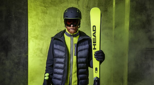 Young and fashionable: The Rebels Line from HEAD Sportswear brings the biker look to the slopes.