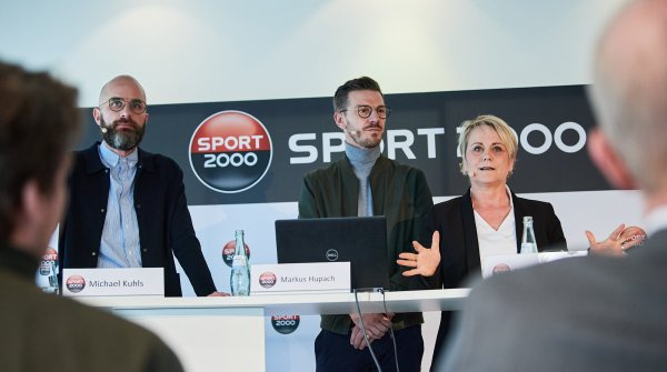 Sport 2000 press conference at ISPO Munich 2020