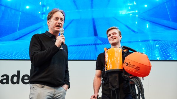 ISPO Brandnew 2020 - The innovative diving equipment by EXOlung