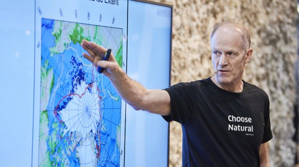 At the ISPO Munch 2020 Borge Ousland told about his 87-day expedition to the North Pole.