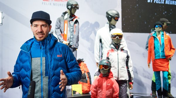 Felix Neureuther auf der ISPO Munich 2020