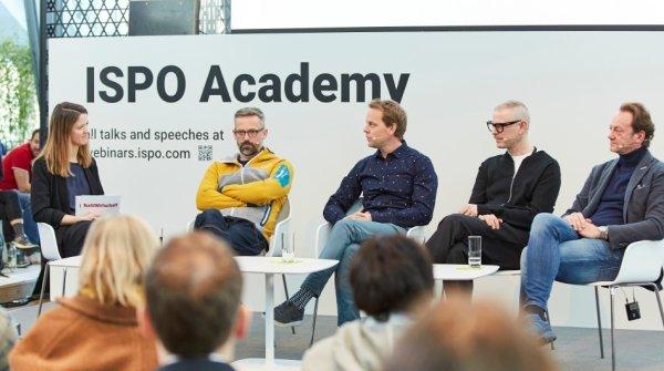 Die Diskutanten des Panels: Mara Javorovic, Erman Aykurt, Oliver Pabst, Christian Schneidermeier und Dennis Schröder.