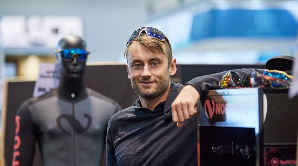Cross-country skier Petter Northug at ISPO Munich 2020