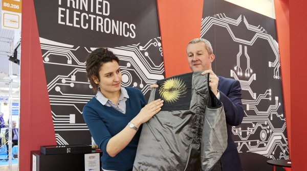 Printed electronics turn clothes into all-rounders.