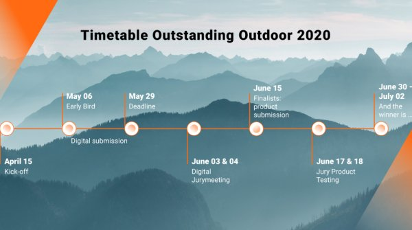 Zeitplan der Outstanding Outdoor 2020