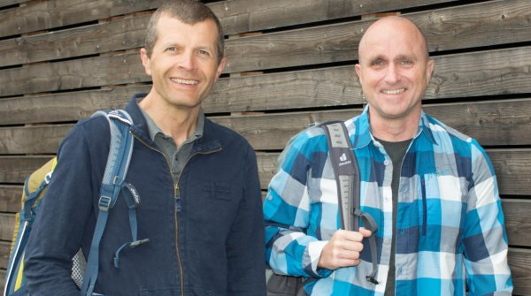 Robert Schieferle (left) succeeds Martin Riebel as Managing Director of Deuter Sport GmbH.