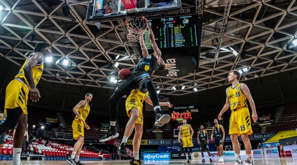 The German Basketball Bundesliga was able to end its season despite Corona with a newly developed tournament mode.