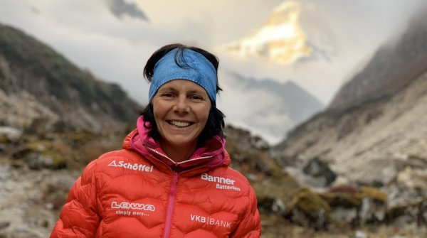 High altitude climber Gerlinde Galtenbrunner turns 50.
