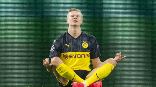 Superstar Erling Haaland of Borussia Dortmund relies on biohacking.