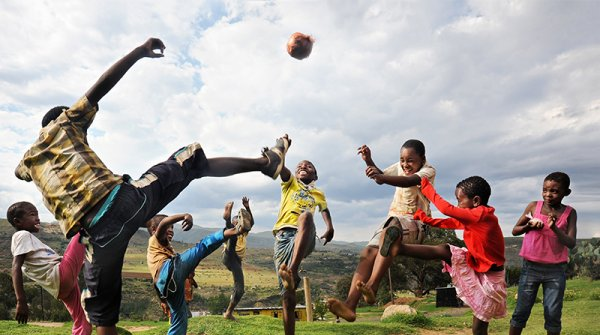 Right To Play: Protect, educate and empower children to rise above adversity using the power of sport and play