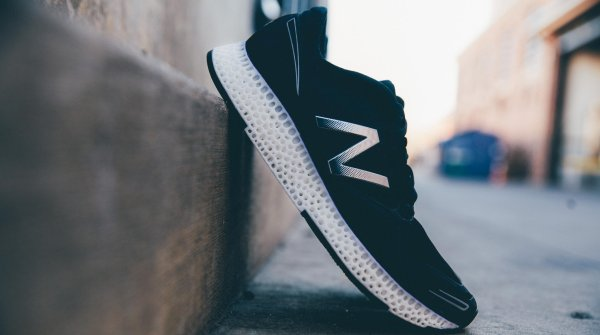 The New Balance running shoe with its 3-D-middle sole