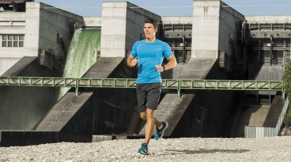 Runtastic-CEO Florian Gschwandtner is running
